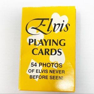 Vintage Elvis Presley Deck of Playing Cards